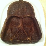 Schokoladenkuchen in Darth-Vader-Form