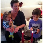 baby, light my fire ::: kerzensaison mit kindern
