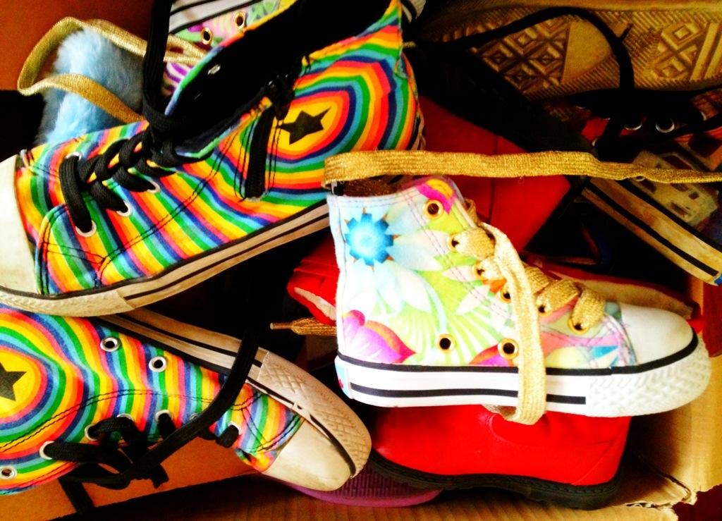Zu kleine Schuhe: all die schönen Molo-Sneakers... Seufz!