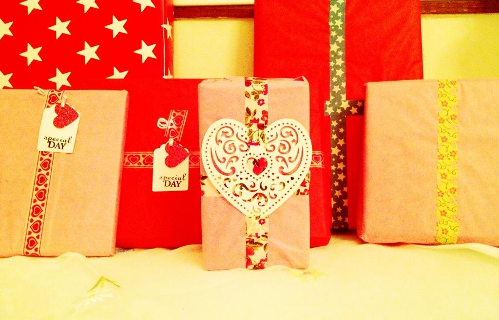 Geschenke fürs Herzensmädchen, pimped by Holamama's finest.