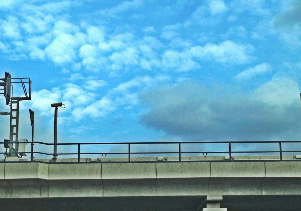 Himmel überm Ostkreuz