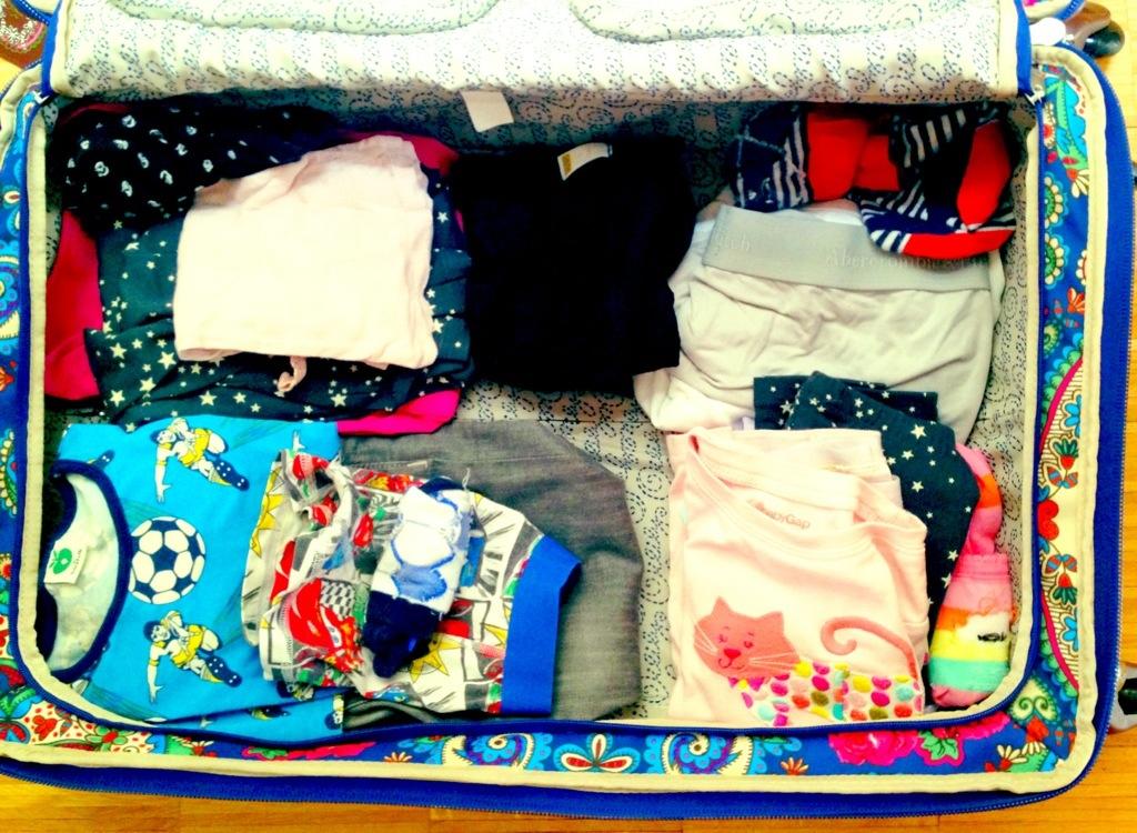 Ich packe meinen Koffer und nehme mit...