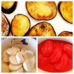 verstecktes gemüse ::: auberginenpasta mit zwei käsesorten