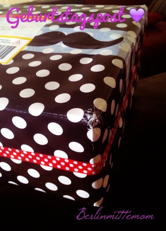 Geburtstagspäckchen