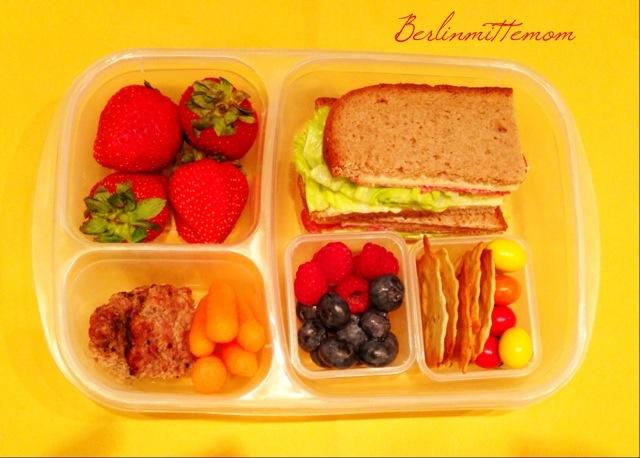 Bentobox, Kinder, Snackbox, Lunchbox, Schulzeit