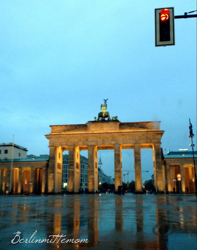 Brandenburger Tor im Regen - 12 von 12 im August
