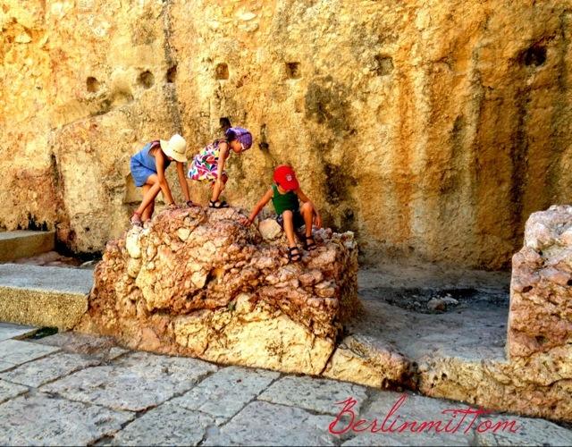 Cardo, Jerusalem mit Kindern, Israel, Reisetipps, Tipps, Jüdisches Viertel, Jerusalemer Alstadt