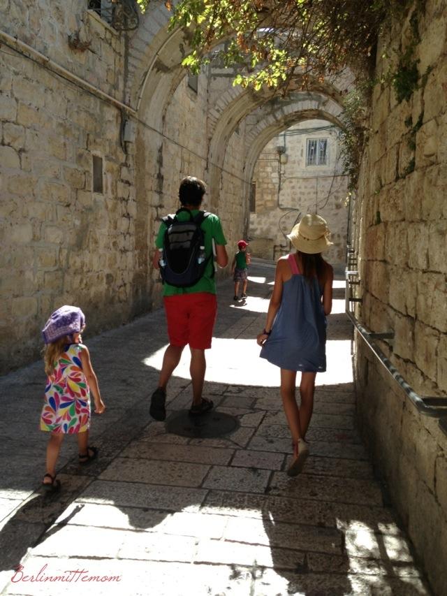 Jerusalem mit Kindern, Altstadt, Familie, Israel, Reisetipps