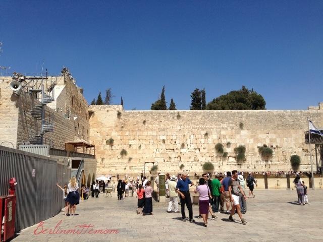Western Wall, Klagemauer, Jerusalem mit Kindern, Israel, Reisetipps