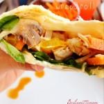 lieblingsrezept für einen sommerabend ::: fajitas con pollo – wrap&roll!