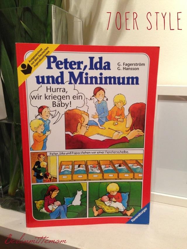 kindgerechte Aufklärung, Peter, Ida und Minimum, Hurra wir kriegen ein Baby, 70-er Jahre Aufklärung, Ravensburger Verlag