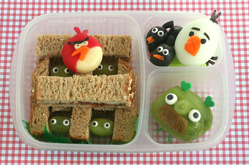 anotherlunch.com, Bento-Box, Angry Birds, Easylunchbox