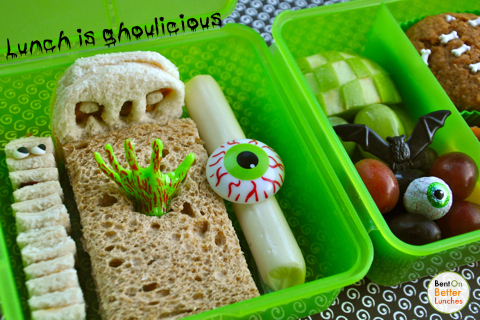 ghoulicious mummy lunch lunchbox Bento-Box BentOnBetterLunches
