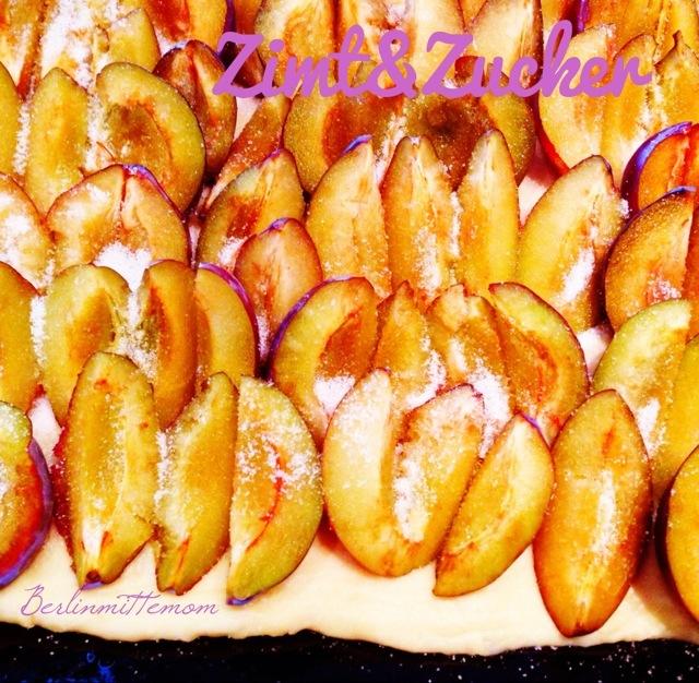 Zimt und Zucker, Pflaumenkuchen mit Streuseln, Lieblingsrezept, Rezept, Obstkuchen, Blechkuchen, Streuselkuchen, Pflaumen, plums, Zimtzucker