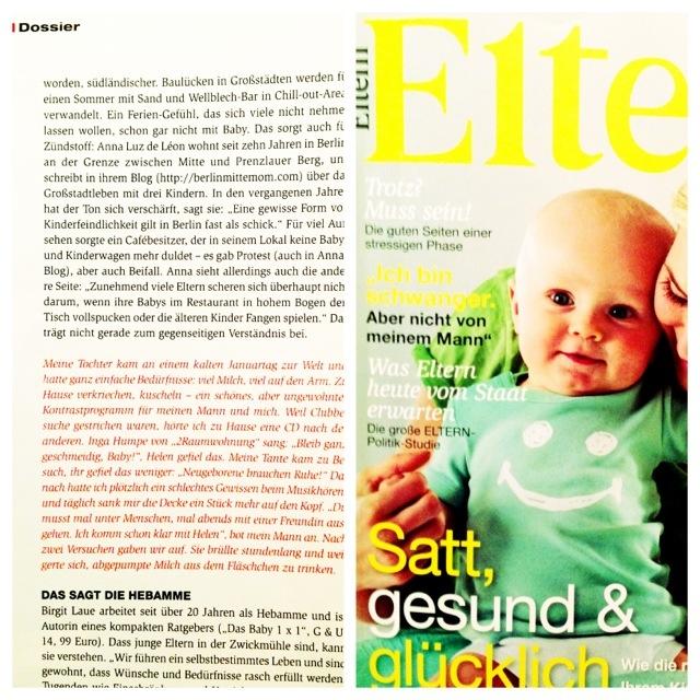 Wieviel Trubel verträgt ein Baby? Dossier im ELTERN Magazin