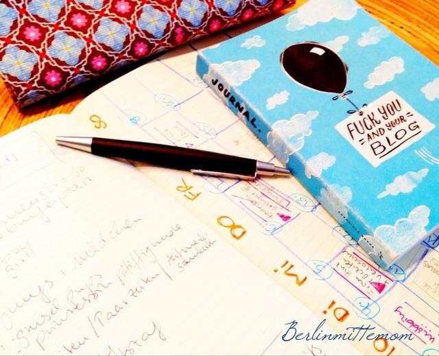 Why i blog and how I do it, ein Blick hinter die Kulissen, Notizbücher, Redaktionspläne, Bloggen