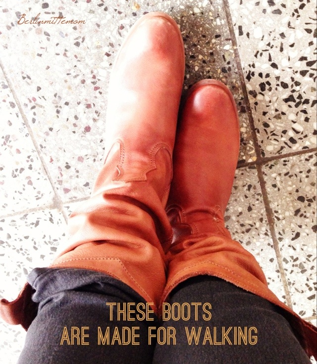 Boots, these boots are made for walking, 12v12, 12 von 12