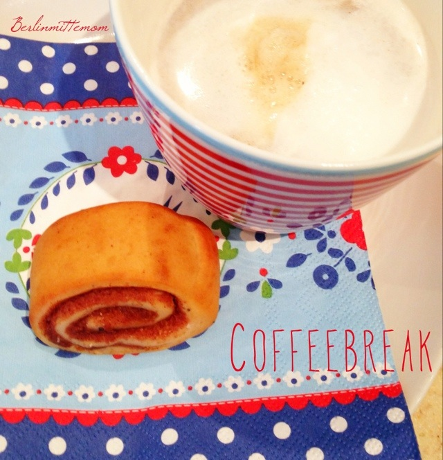 Coffeebreak, Zimtbrötchen, Latte Macchiato, 12v12, 12 von 12