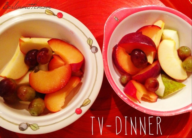 Dinner, fresh fruit, Obst, TV, Tom&Jerry, 12v12