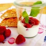 Himbeer Trifle im Glas, Dessert, Nachtisch, Rezept