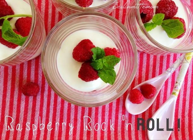 Himbeer Trifle im Glas, Raspberry Rock 'n Roll, Dessert, Rezept