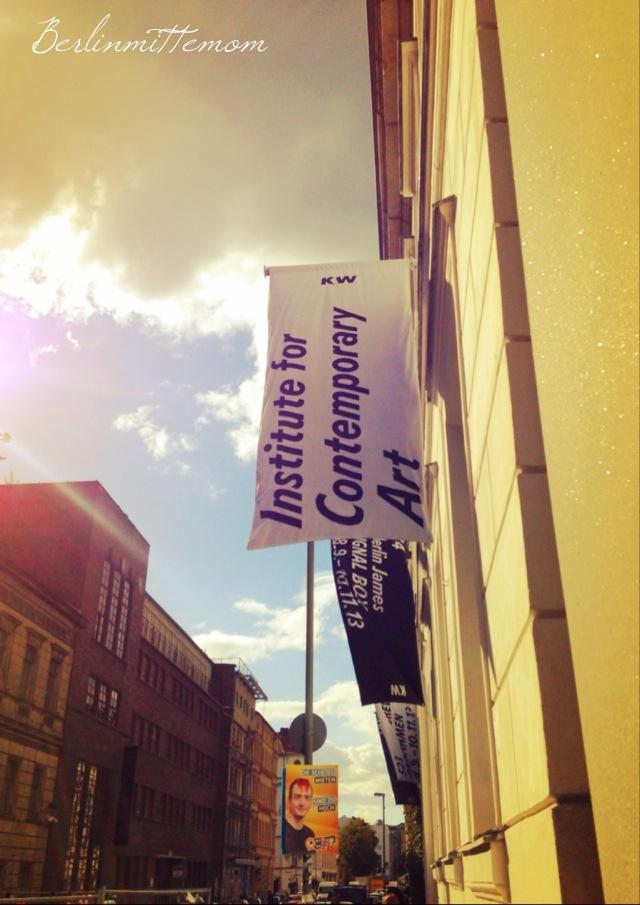 KW Institute of Contemporary Art, Berlin Mitte, Auguststraße