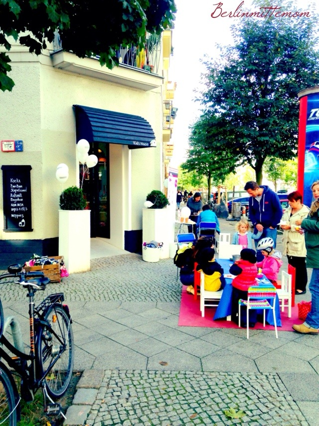 Kids House Berlin, Shop till you drop, Shop Opening
