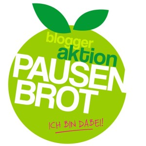 Blogger Aktion Pausenbrot, Badge, Kindertafel, Kinderarmut, gesunde Brotdose