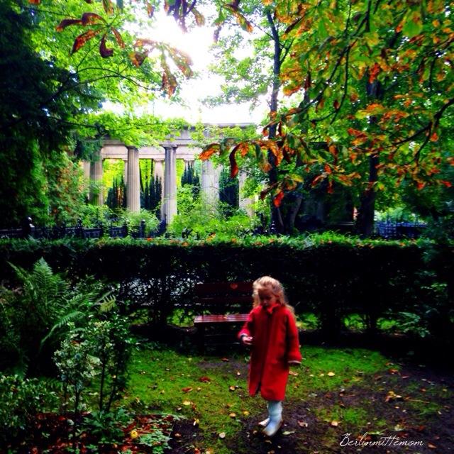 Streifzug, Friedhof, Spaziergang, Herbstspaziergang
