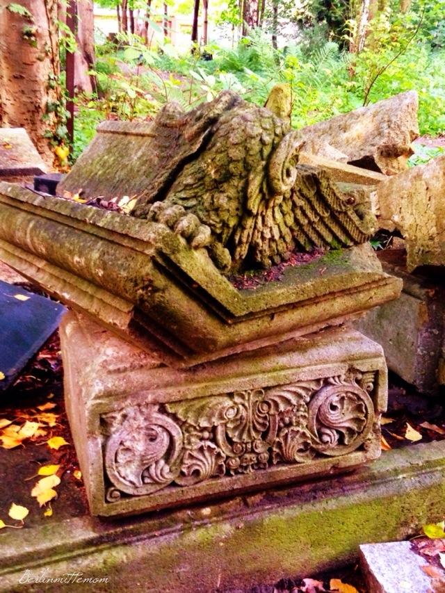 Herbstspaziergang, Streifzug, Berlin, Herbstfarben, Friedhof