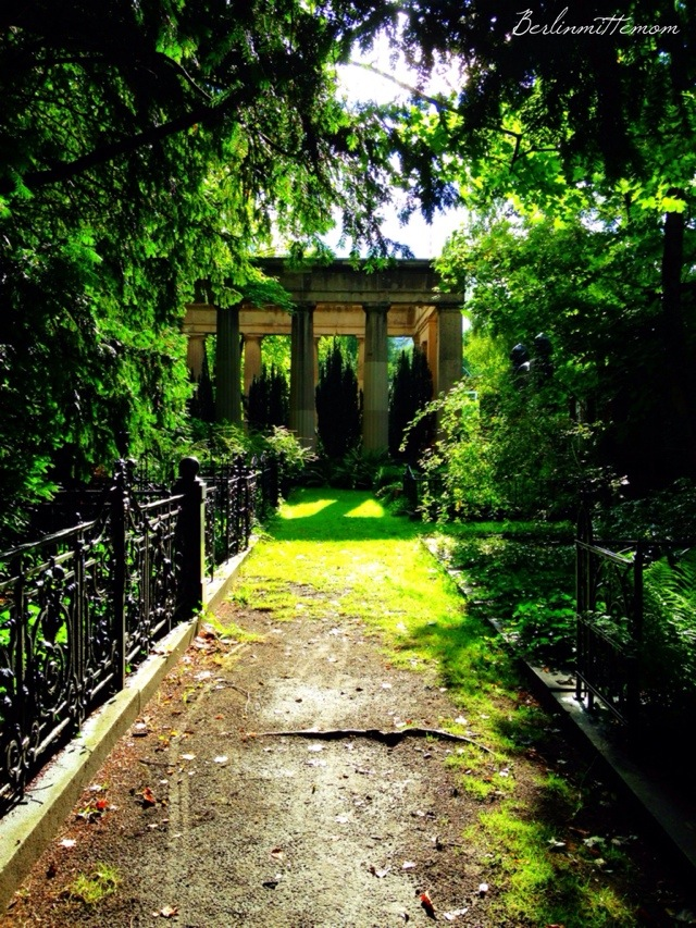 Streifzug, Friedhof, Sonne, Farben, Herbstspaziergang