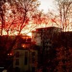 12 von 12, Sonnenaufgang in Berlin
