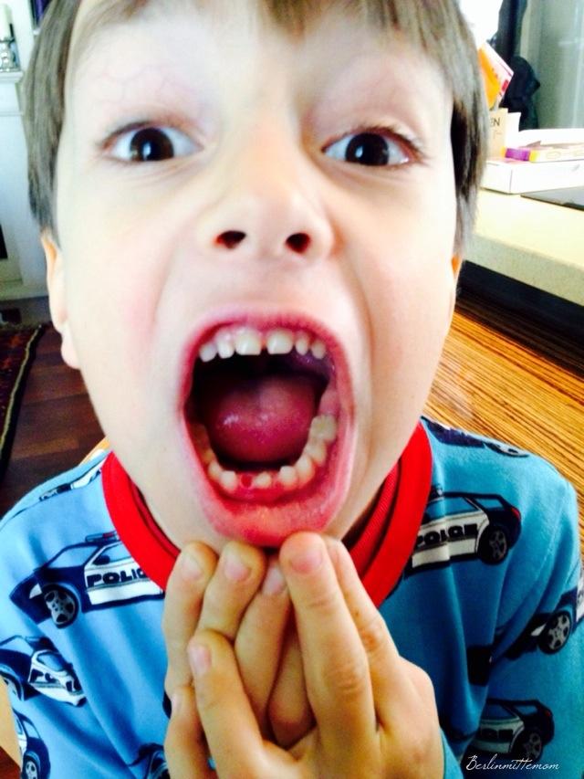 12 von 12, Zahnlücke, Zahnfee