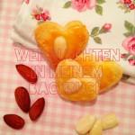 weihnachten in meinem backbuch ::: zarte mandelherzen