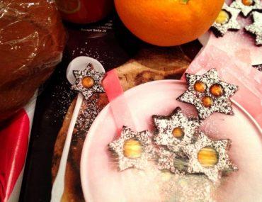 Dankbarkeits-Adventskalender, Dankbarkeit statt Sachen, Christmas Challenge of Thankfulness, Schoko-Orangen-Sterne