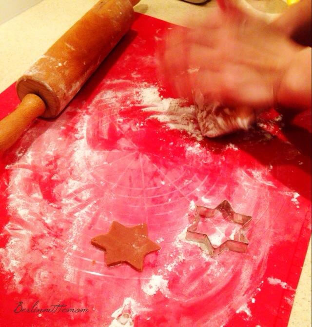 Schoko-Orangen-Sterne, Rezept, Weihnachten in meinem Backbuch