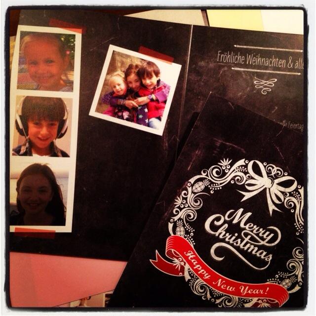 Dankbarkeit statt Sachen, Weihnachtskarte, Weihnachtspost, Familiensache
