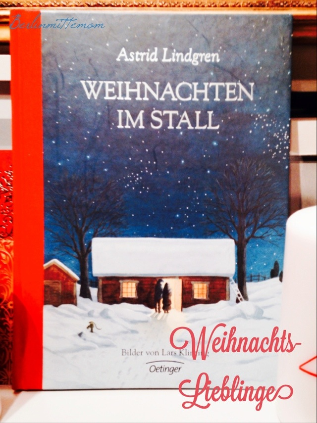 Weihnachtsbücher für Kinder, Weihnachten im Stall, Lindgren