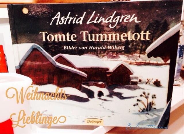 Weihnachtsbücher für Kinder, Tomte Tummetott, Lindgren, Bilderbuch, Weihnachten, Buchtipp