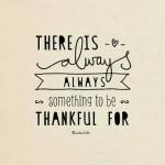dankbarkeit statt sachen! ::: am 3. tag fällt's schwerer