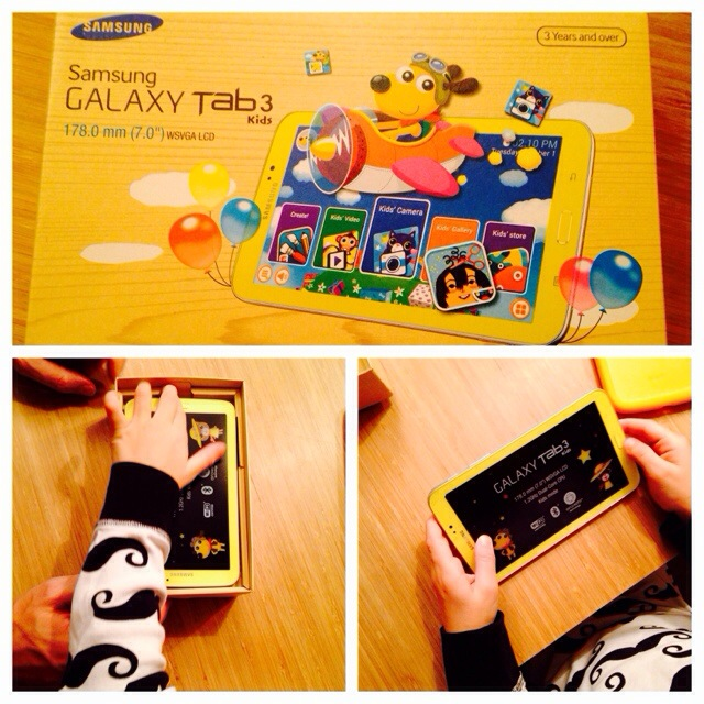 Samsung Galaxy Kids Tab 3, Android Kindertablet, Produkttest