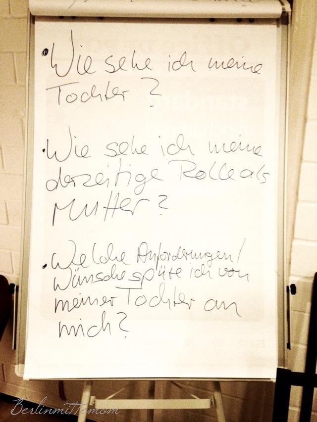 MomTalk Workshop, Mütter Workshop
