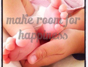 Umgang mit Geburt und Tod, make room for happiness