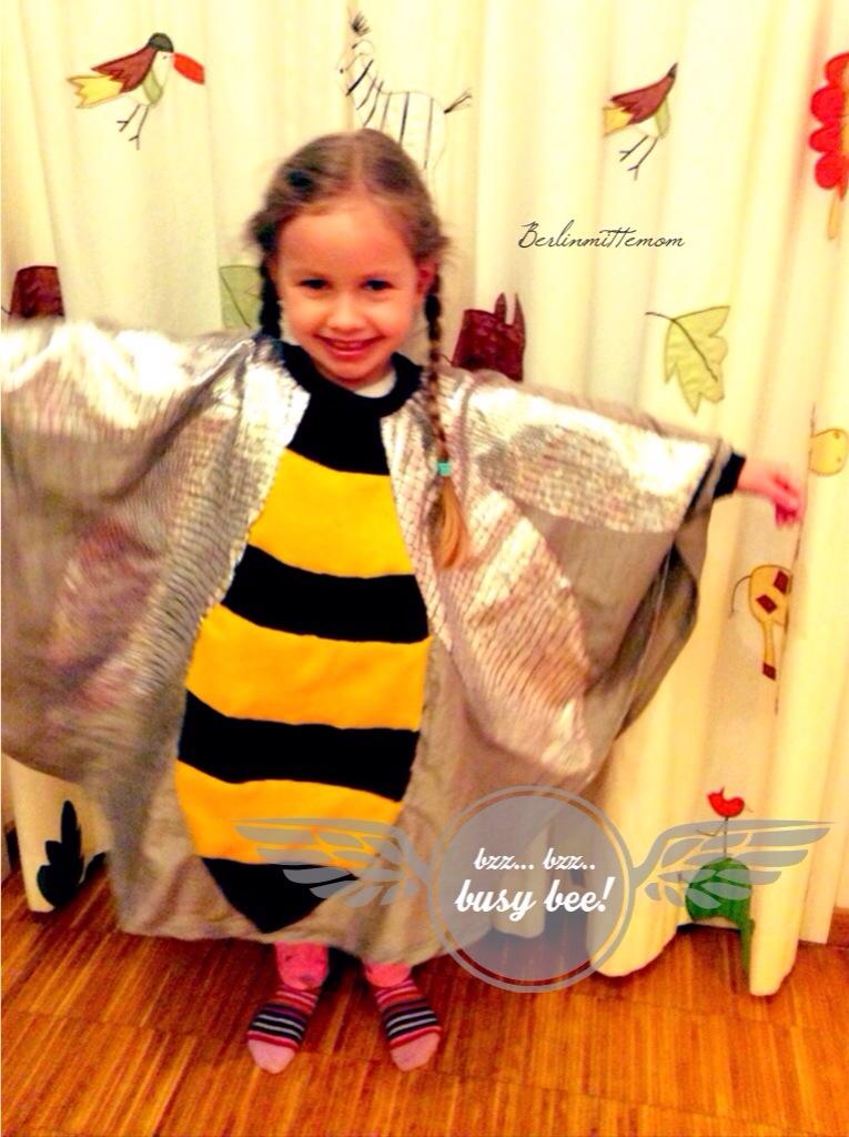 Karnevalskostüme für Kinder, Faschingskostüm, Biene, bzz bzz