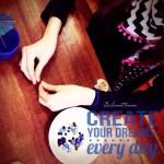 kreativgeburtstag mit 8 pre-teens ::: unser besuch in der perlerei berlin