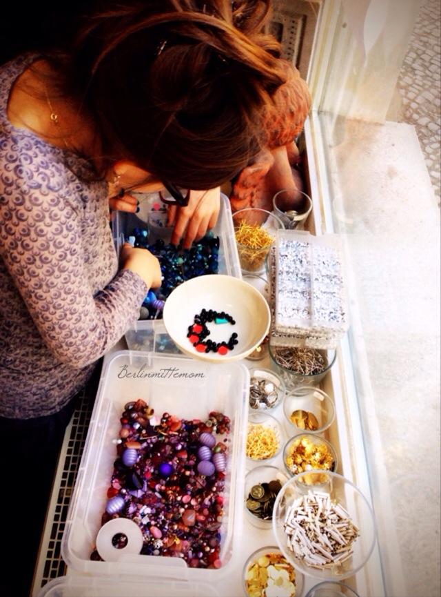 Perlerei Berlin, Beads, Kindergeburtstag, Perlenschmuck gestalten