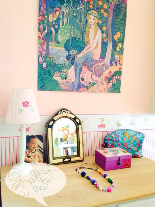 Mädchenzimmer, Kinderzimmer, Einrichtung, pink