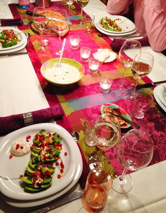 Sehnsucht nach Jerusalem, Israel, israelisch kochen, Dinner