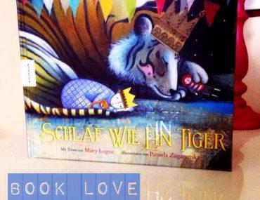 Book Look, Schlaf wie ein Tiger, Bilderbuch, Kinderbuchtipp