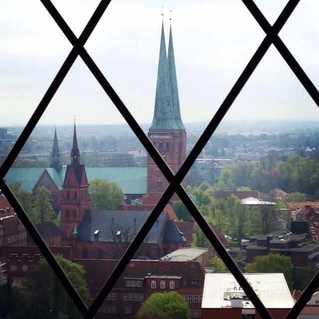 Ferienbilder des Tages, Aussichtsturm, Lübeck